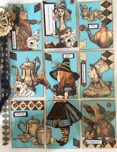 Pocket letters, letter, snailmail. love, home, creating, pocket letter pals, creating, ideas. scrapbooking, ideas, things, love, embellish, embellishments, Alice in Wonderland, ilovepapillons. glenda vermaak
