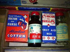 Adorable 1940s Little play nurse kit by BsBootyandAnimalAlex, $70.00