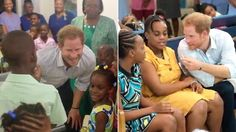 On his Caribbean visit, on behalf of The Queen, Prince Harry visits Nightengale Children's Home, an organisation offering accommodation, support and care to children from birth up until the age of 18.