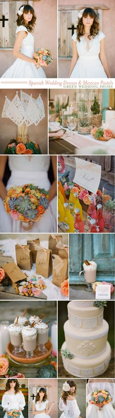 wedding inspiration. love the colors and succulents