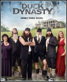 Duck Dynasty #tvshows #duckdynasty #therobertsons
