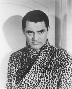 Cary Grant in lepord print !