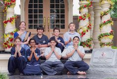 Dandavats   How do we balance the spiritual and material aspects of education in the gurukula?
