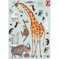 Muurstickers dieren door Fiep Westendorp