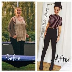 Mathilde Broberg Lost 66KG, Half Her Body Weight By Following These Principles! #weightlossrecipes