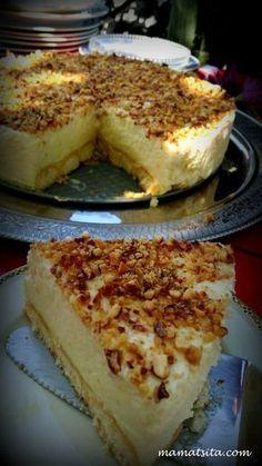 Greek Sweets, Greek Desserts, Party Desserts, Summer Desserts, Lemon Recipes, Sweets Recipes, Cooking Recipes, Food Network Recipes, Food Processor Recipes