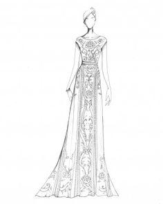 "The Inspiration: ""Enchanted."" —Alice Temperley, designer, Temperley London"