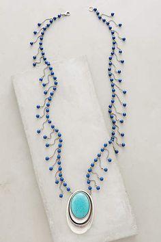 Collier pendentif Opuntia - anthropologie.com