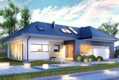 Projekt domu CPT KONCEPT-14 - DOM CP1-14 - gotowy projekt domu