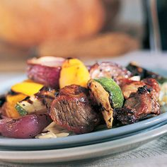 Greek-Style Lamb Recipe with Roasted Vegetables | health.com