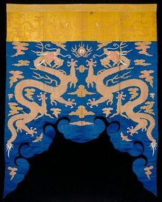 Altar Frontal  Artist Unknown (China, Asia), early 18th century silk, satin, cotton L.81-3/4 x W.64-3/4 in. The John R. Van Derlip Fund 42.8.148  Minneapolis Institute of Arts