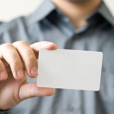 The importance of personal branding online Card Sizes, Personal Branding, Adhesive, Playing Cards, Self, Access Control, Control System, Black And White, Reading