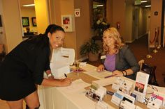 Temecula Valley Wedding Professionals registration desk