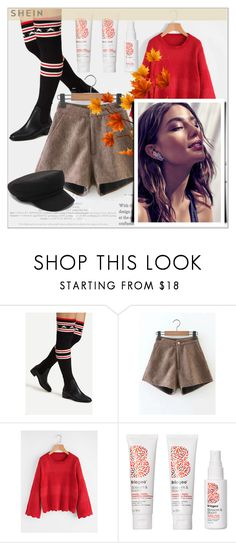 """""""SheIn 9/ 10"""" by emina-095 ❤ liked on Polyvore featuring Briogeo, shop, woman, polyvoreeditorial and shein"""