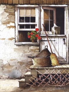 Cleaning Day,  John Rossini