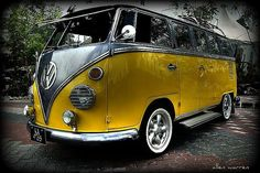 VW Bus....the only thing missing is a couple of surfboards