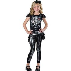 [HALLOWEEN] Sparkly Skeleton Kids Costume - $20.38 with FREE SHIPING WORLDWIDE! 2 DAYS for ALL USA DELIVERY!!! visit our site ->>> http://HALLOWEEN-CLOTHES.CF