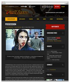 Fantasia Festival 2012 - Film page by plankdesign, via Flickr