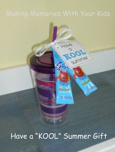 """Have a """"Kool"""" Summer Gift {Teacher Appreciation} - Making Memories With Your Kids"""