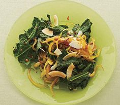 Curried Kale With Coconut | Sick of spinach? Turn over a new leaf and try one of these surprising, tasty sides starring the nutritional powerhouse.