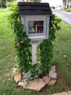 neighborhood-library. brilliant!