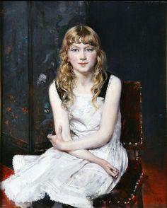 Portrait of Irene Catlin, Giovanni Boldini. Italian (1842-1931)