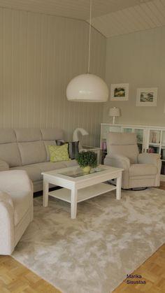 Vaalea, valkoinen, beige, olohuone
