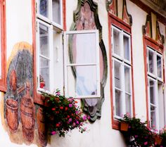 Windows, Cesky Krumlov Czech Republic