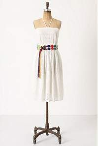 Blanched Eyelet Dress