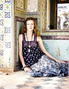 Gudrun in India