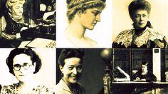 Mujer trabajadora, valoradas sean tus obras siempre. Seis mujeres para el 8 de…