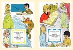 Postais ilustrados Maio e Junho Júlio Gil