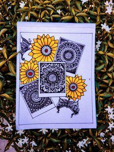 Mandala Art Therapy, Mandala Art Lesson, Mandala Artwork, Doodle Art Drawing, Mandala Drawing, Small Canvas Art, Diy Canvas Art, Doddle Art, Watercolor Mandala