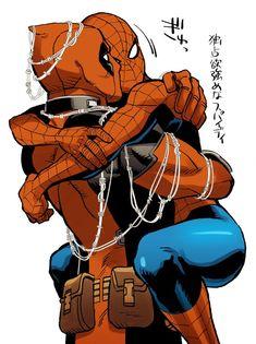 Disney Marvel, Marvel Art, Marvel Dc Comics, Marvel Avengers, Spideypool, Deadpool X Spiderman, Spiderman Art, Superman, Batman