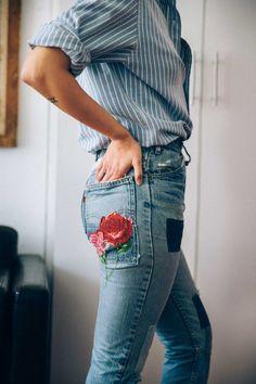 Le jean taille haute pour une jolie silhouette