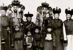 Mongols in early 1900s