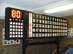 electronic bingo flashboard