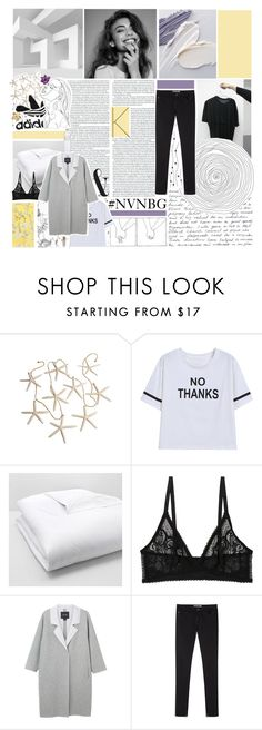 """i know the sound of your heart"" by elderflowers ❤ liked on Polyvore featuring Mon Cheri, Matouk, Monki, Vanessa Bruno Athé, Humble Chic and nvnbg"