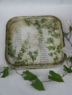 Honeysuckle Vine, Ivy Rose, Breakfast Tray, Ivy Plants, Color Me Beautiful, Cottage, Spring Green, Vintage Farmhouse, Green Colors