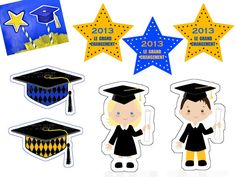 toppers_et_decosr_de_table Graduation Images, Pre K Graduation, Preschool Graduation, Graduation Celebration, Graduation Cards, Graduation Scrapbook, Orla Infantil, Nurses Week Quotes, Ideas Para Fiestas