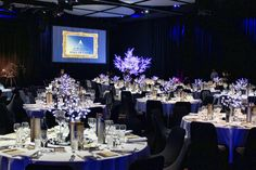 Corporate event decor can be simple and stunning.  See our website for more: