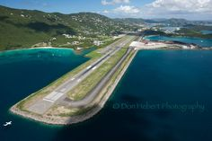 Landing in St. Thomas, USVI. Cyril E. King Airport