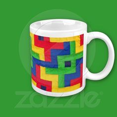 Just  sold! 'Patchwork Quilt' Coffee Mug from Zazzle.com