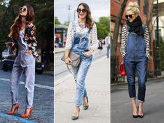 macacão jeans : aprenda a usar | Feminilidades