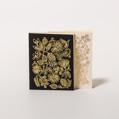 Notizbuch-Set Gold Foil Pocket (2 Stück) von Rifle Paper Co. | Papperlott!