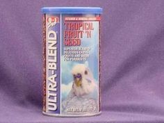 8in1 Parakeet Ecotrition Fruit 'N Seed Treat 8oz