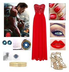 """""""Prom Iron Man"""" by danii1d ❤ liked on Polyvore"""