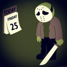 Not today, Jason. Enjoy your #friday, slasher free! #halloween #fridaythe13 #photooftheday #webstagram