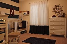 Thinking of my brother brian and sister in law Liz's future baby boy room .....no she isn't pregnant yet but someday!  nautical lil boys nursery... :)