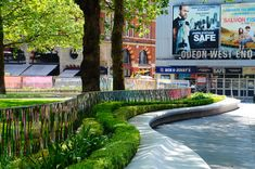 Leicester Square City Quarter | London UK | Burns + Nice « World Landscape Architecture – landscape architecture webzine